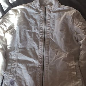 James Perse Los Angeles white jacket